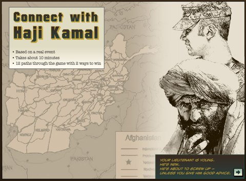 Screenshot from Connect with Haji Kamal activity